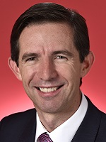 Official portrait of Simon Birmingham